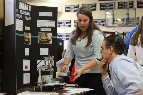 Newton Country Day Holds 23rd Annual Science and Engineering Fair
