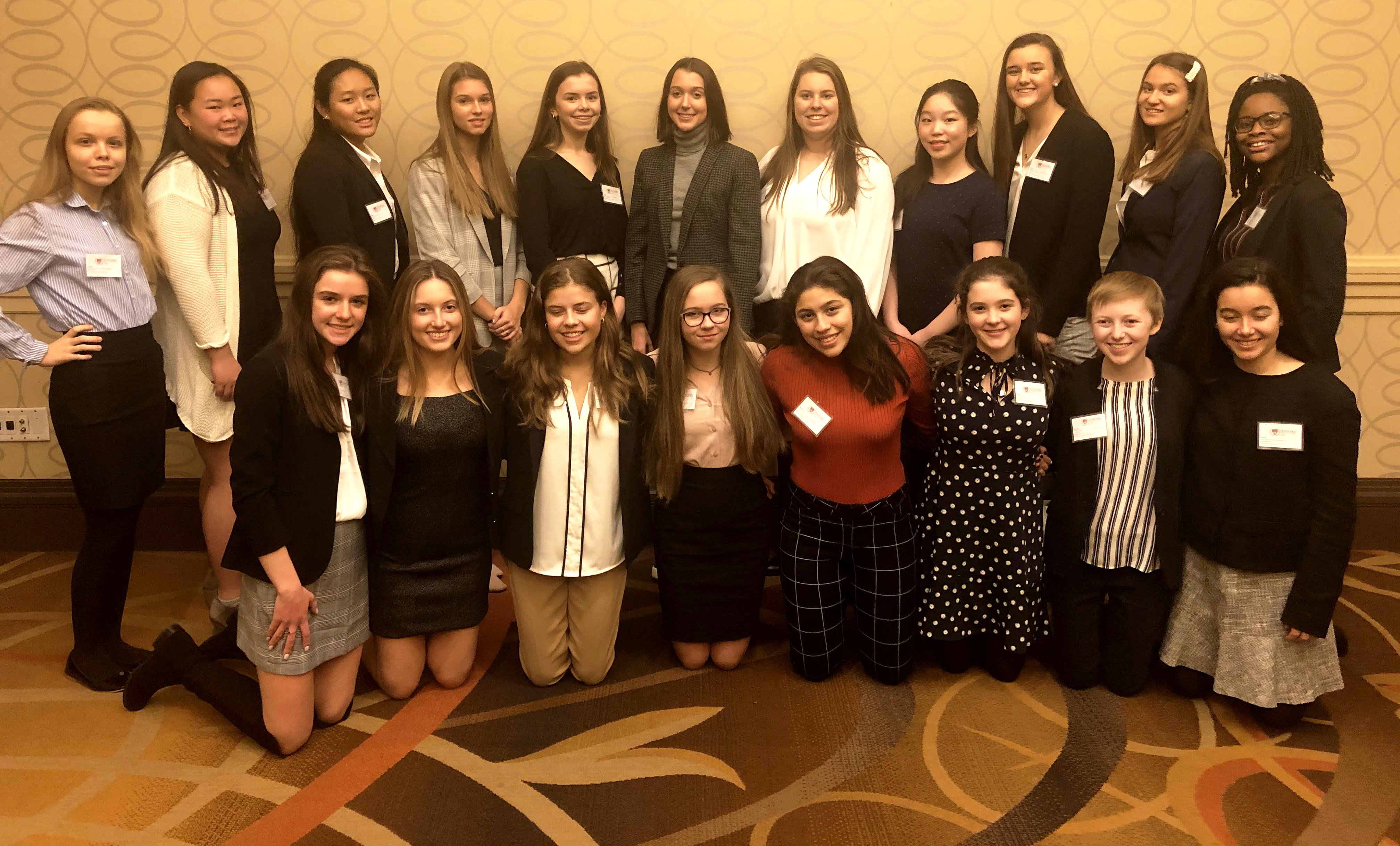 Sophomores Earn Commendation at Harvard Model UN Conference