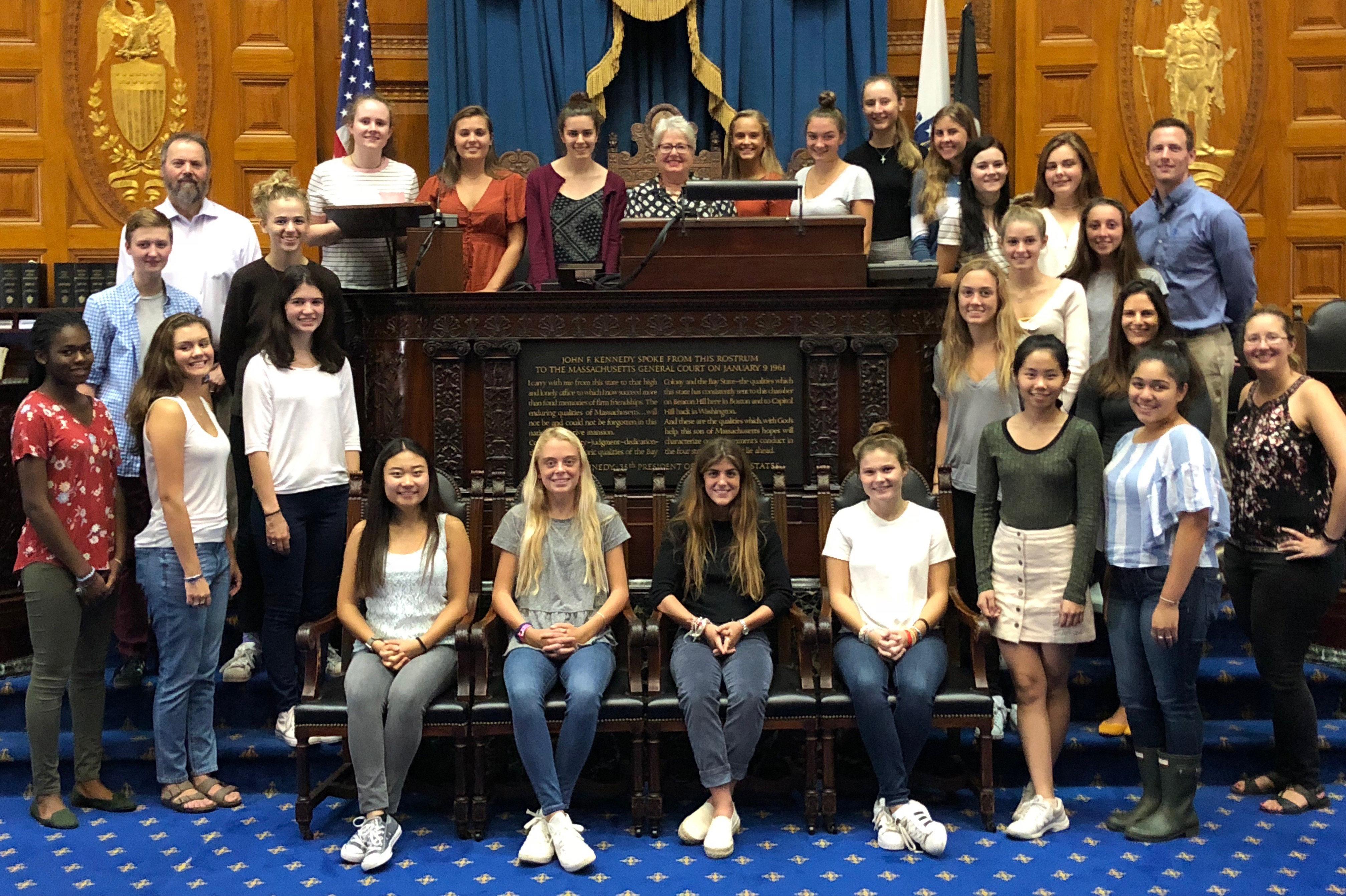 Seniors Participate in Two-Day Advocacy Program