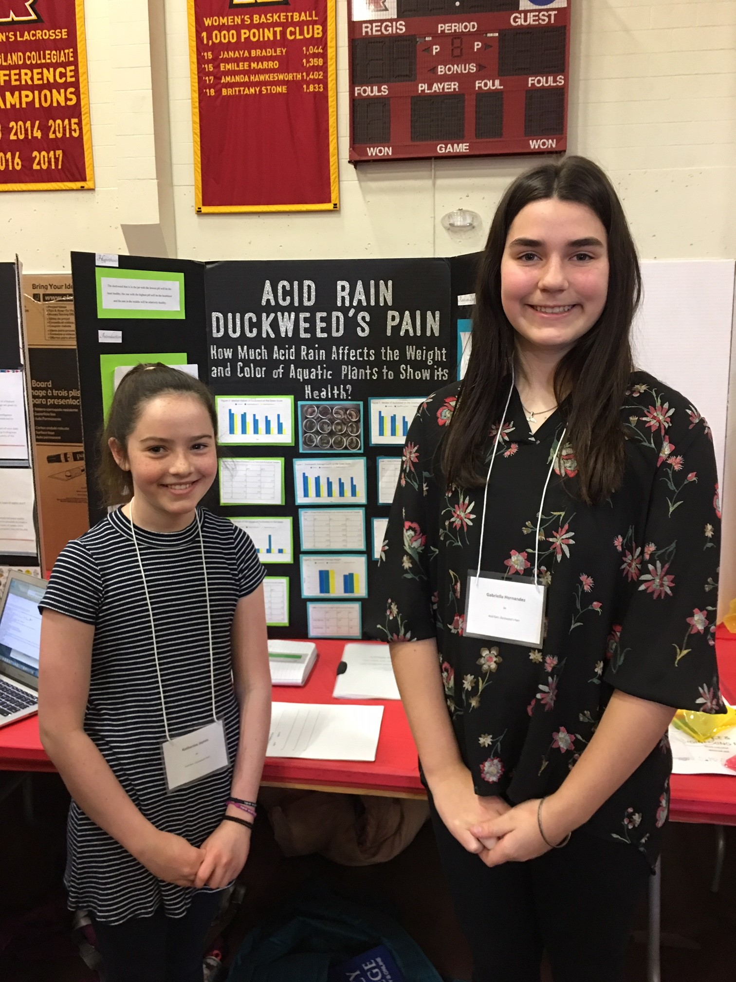 Middle School Students Advance to State Science Fair