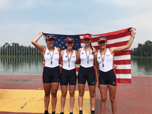 M. Lee '19 Places First at the CanAmMex Regatta