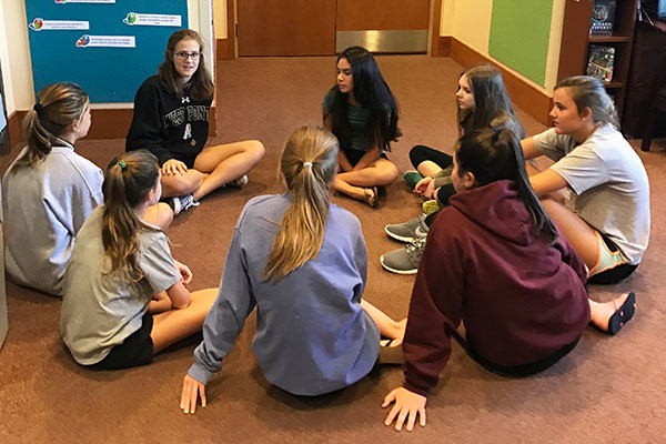 New Mentorship Program Connects Upper and Middle School Girls