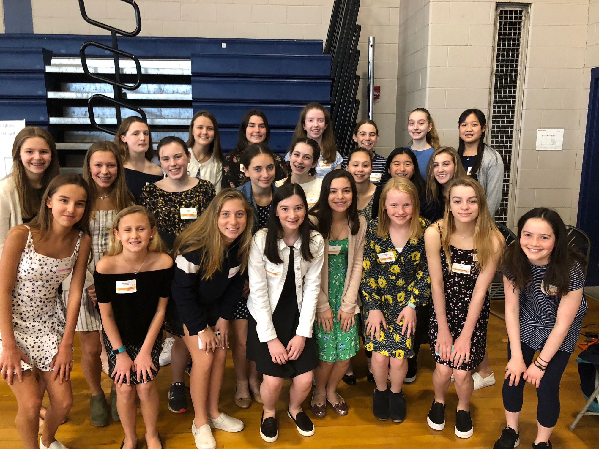 Middle School Girls Earn Prizes at State Science Fair