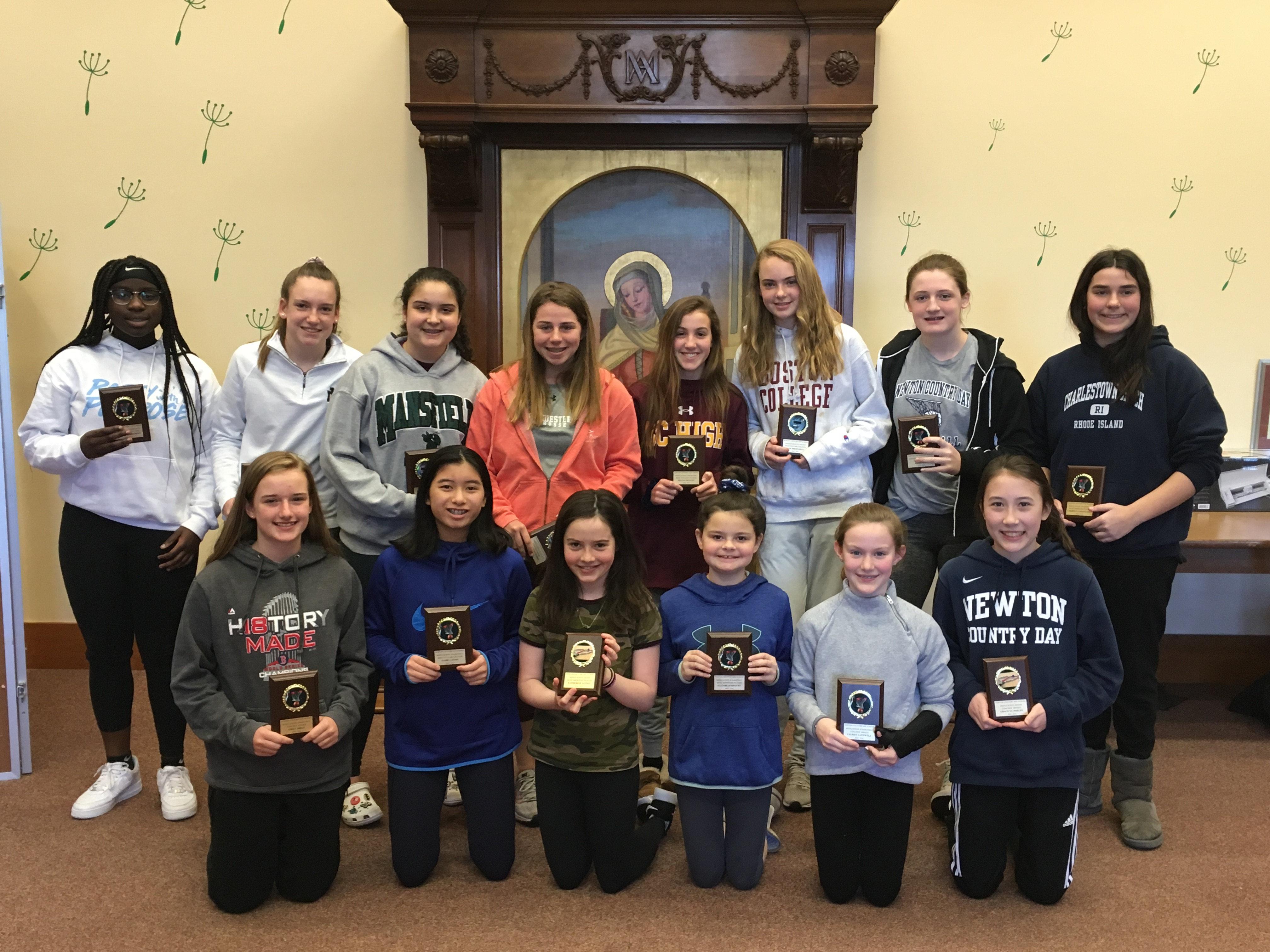 Middle and Upper School Winter Athletic Awards