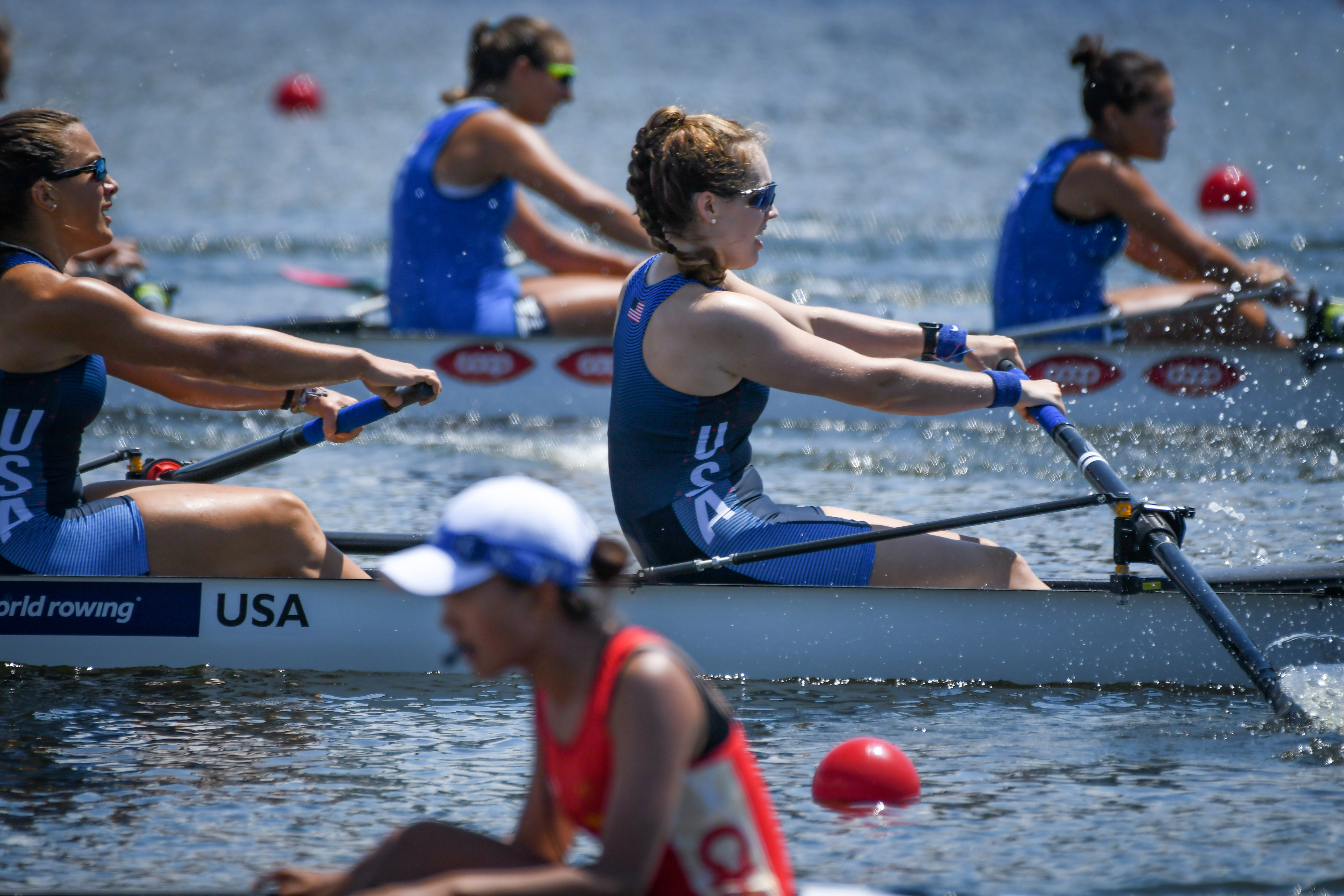 Megan Lee '19 Represents the United States on US Rowing National Team