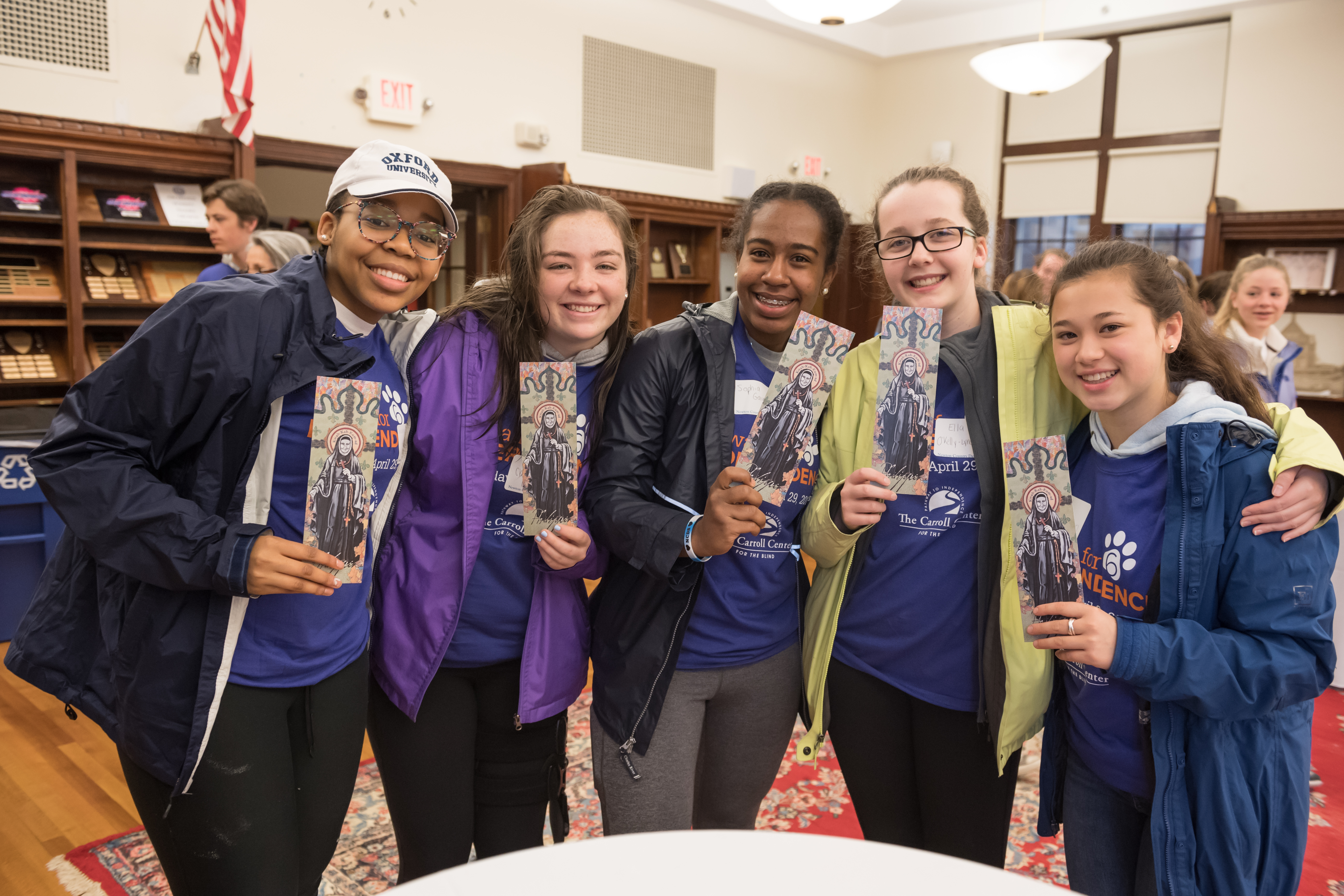 NewtonSERVES: A Day of Service to Honor St. Rose Philippine Duchesne