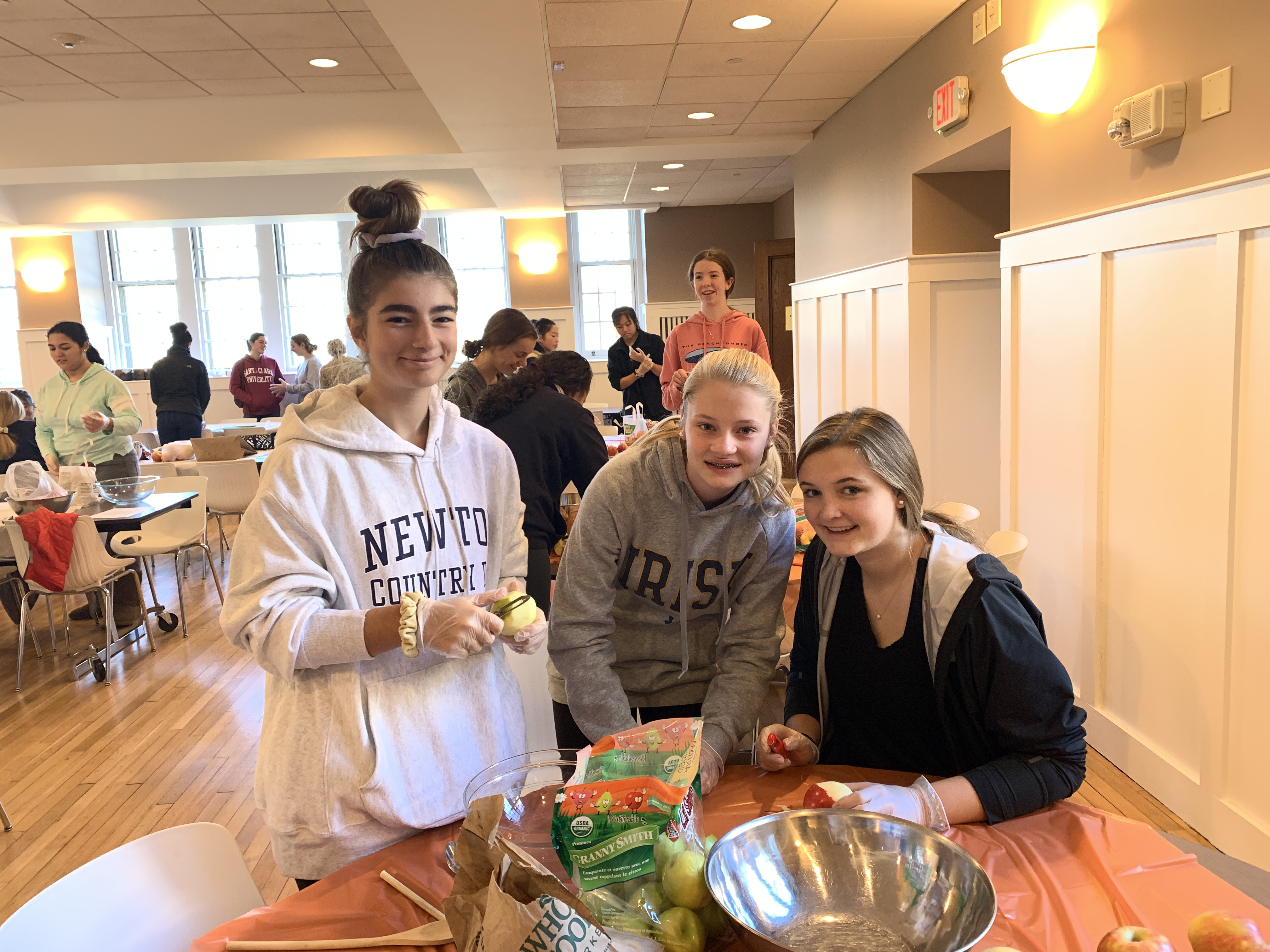 Class of 2023 Contributes to Pie in the Sky Fundraiser