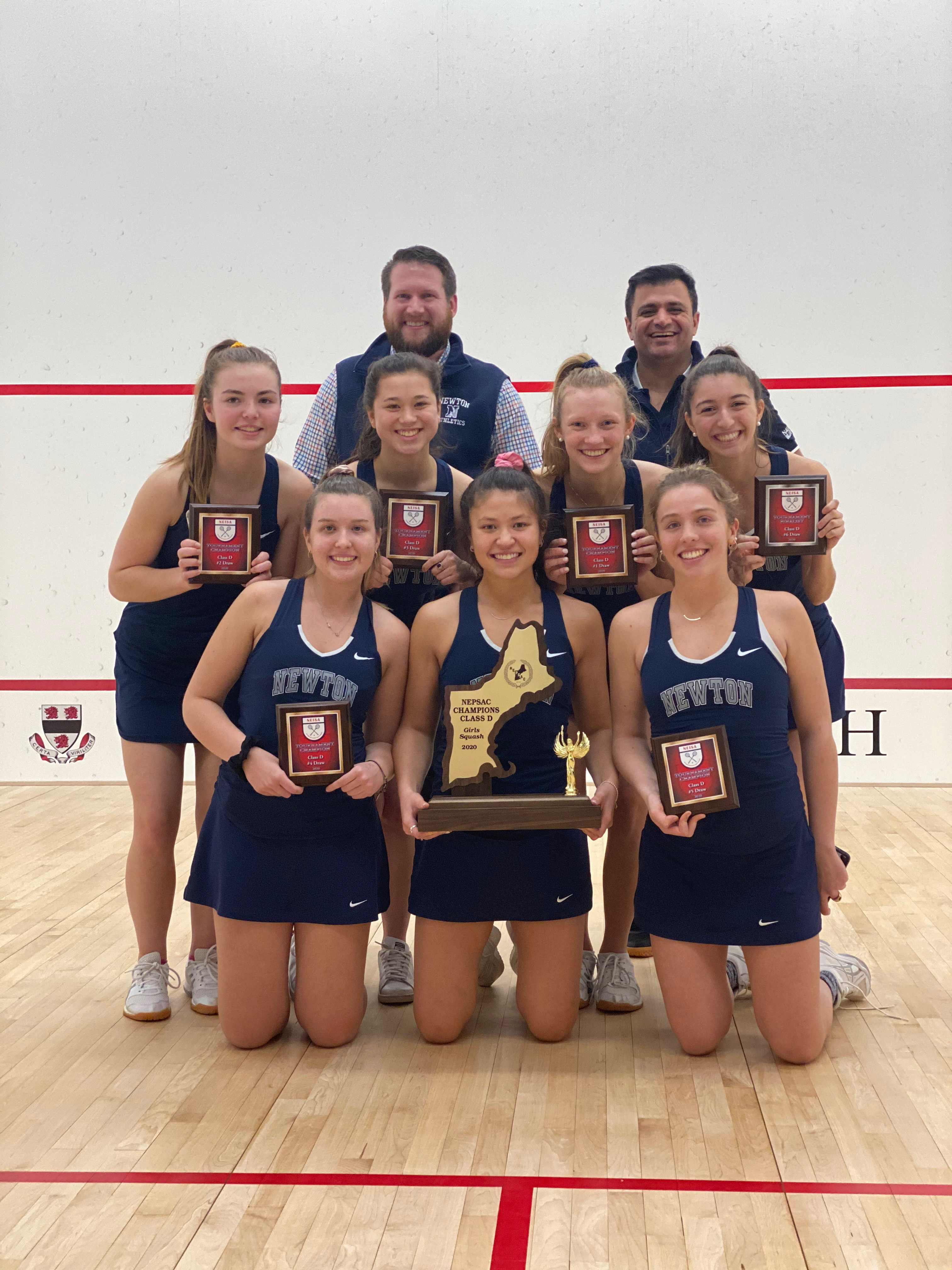 Varsity Squash Wins NEPSAC Tournament